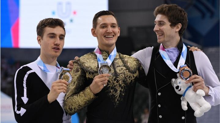 Екатеринбуржец Максим Ковтун завоевал серебро на Универсиаде в Красноярске