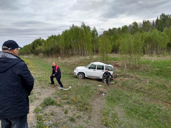 Пассажирка УАЗа также пострадала в аварии