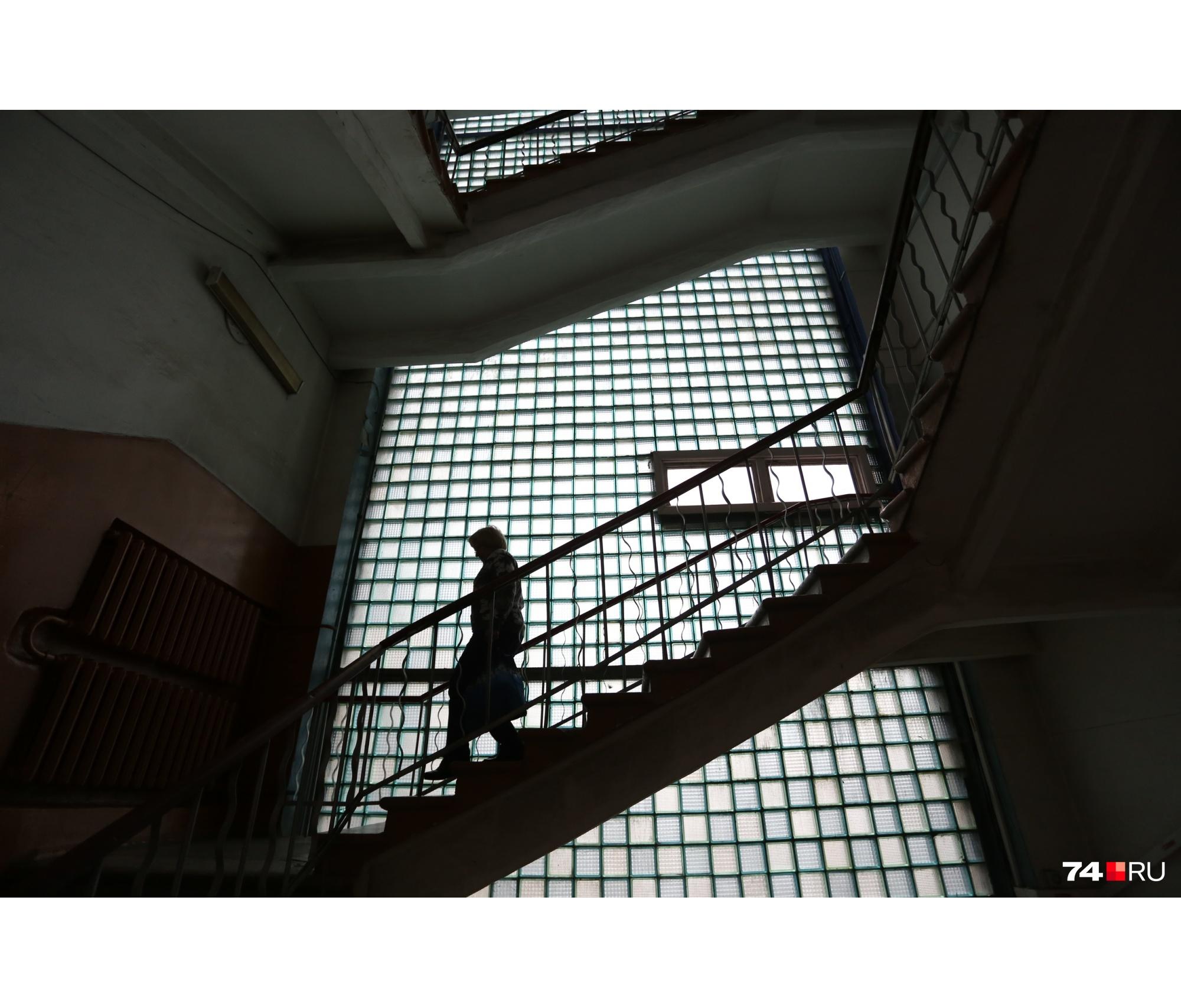 Лестницы ведут в советское прошлое