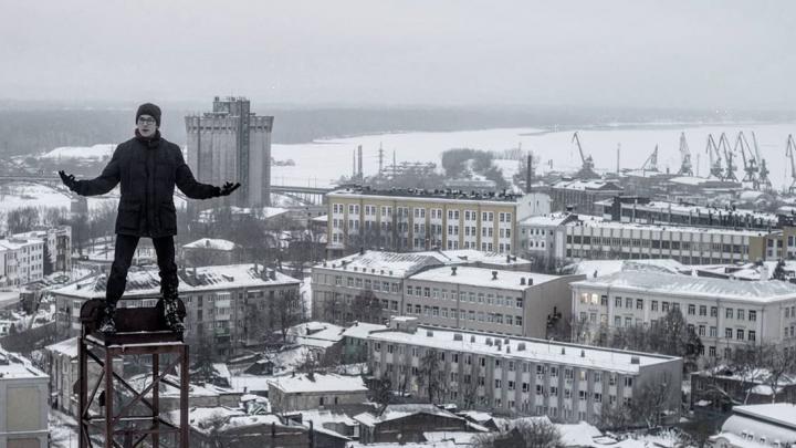 Вредитель Ли показал панораму Самары с крыши дома обманутых дольщиков