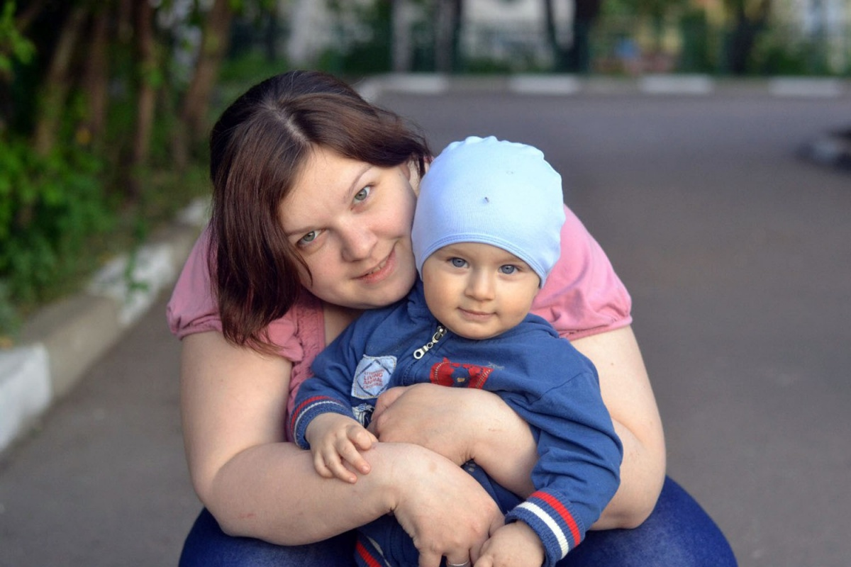 Валентина и ее сын