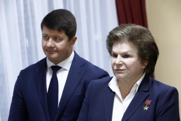 Владимир Слепцов и Валентина Терешкова знакомы уже давно