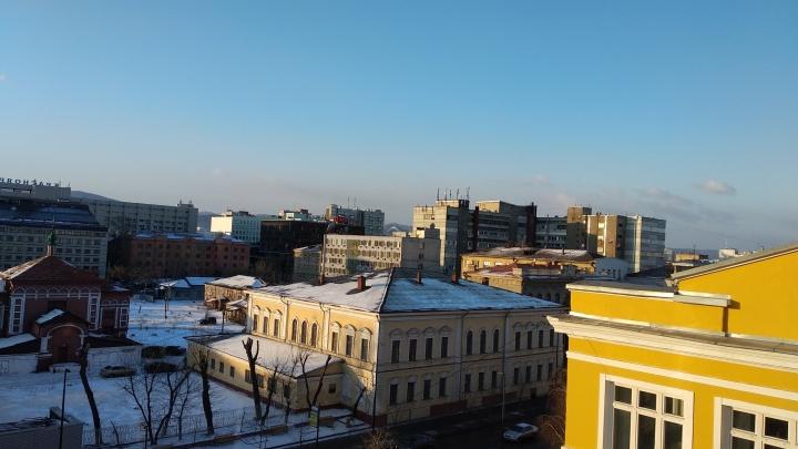 «Идеальное небо»: чистый воздух в Красноярске зафиксирован во всех районах города