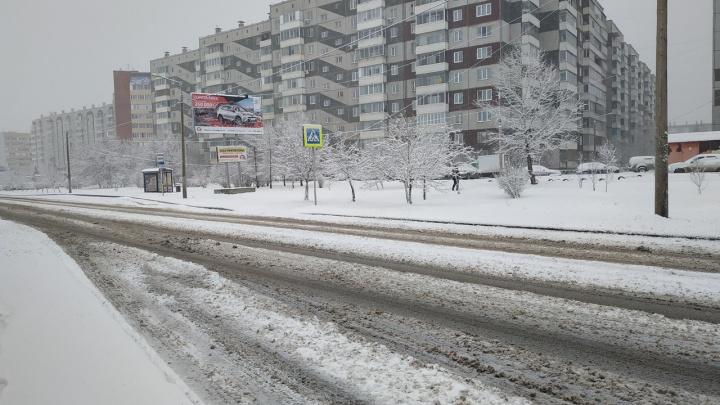 Показываем, что творится на дорогах в разных районах Красноярска