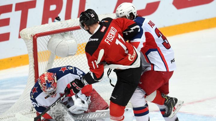 Первая — на поражение, вторая — контрольная: двух шайб ЦСКА хватило для победы над «Авангардом»