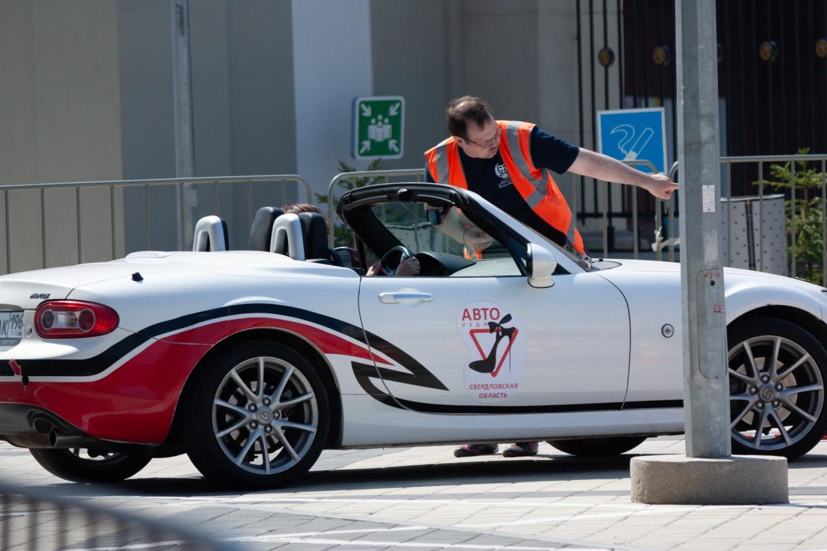 К соревнованиям допустили только тех, кто ездит аккуратно по дорогам и не получает штрафов