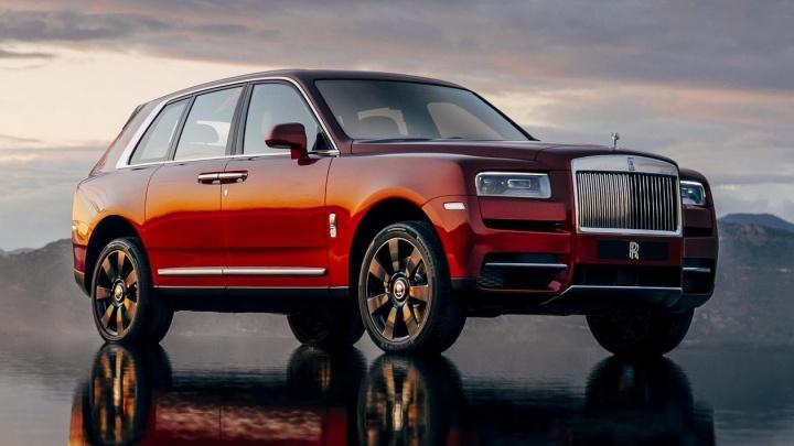 Rolls-Royce сделал свой первый джип