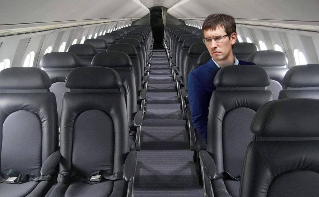 Артём Краснов очень хотел на самолёте обогнать коллегу, ехавшего на машине, но план сорвался