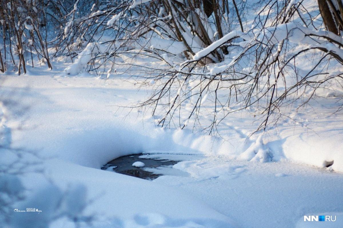 Обильные снегопады будут сопровождаться оттепелью