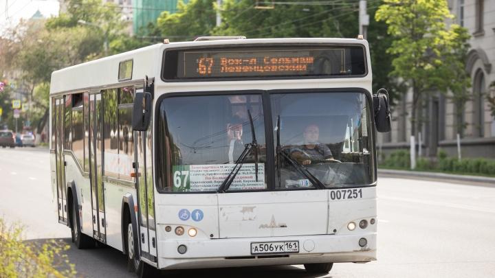 В Ростове автобус сбил девятилетнюю девочку