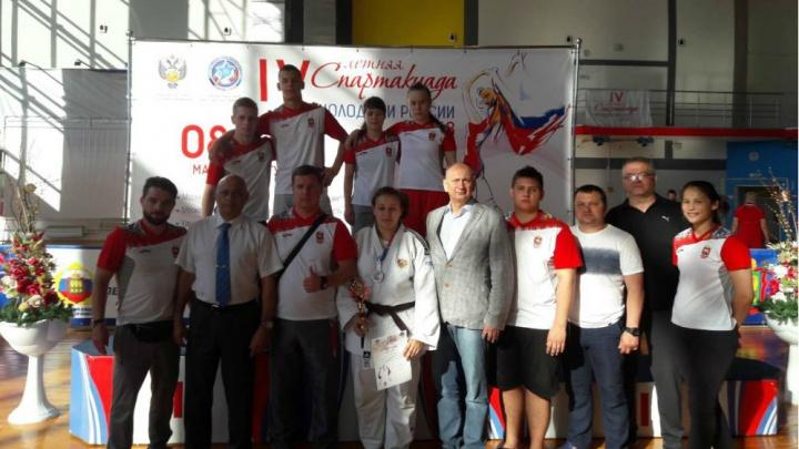 Челябинские дзюдоисты завоевали шесть медалей спартакиады молодёжи России
