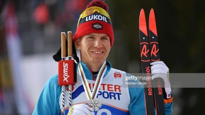 Тюменский лыжник Александр Большунов взял серебро в марафоне чемпионата мира — 2019