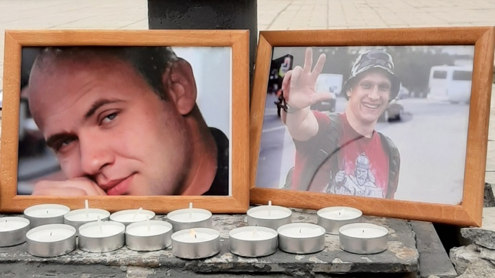 «Герои будут вечно жить в наших сердцах»:в Нарымском сквере почтили память погибшего спецназовца