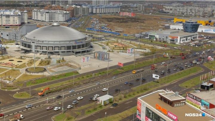 До 30 октября у «Арены Север» закрывают проезд: заботятся о безопасности участников соревнований