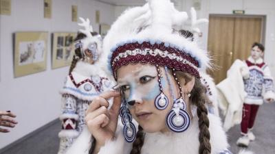 Поморские Бэмби: смотрим милые фото с праздника в защиту северного оленя в Архангельске