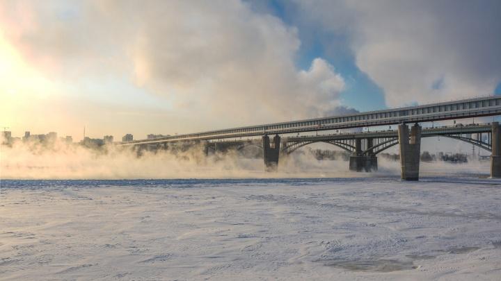 Мороз вместо метели: в Новосибирск идёт ветреная и холодная погода