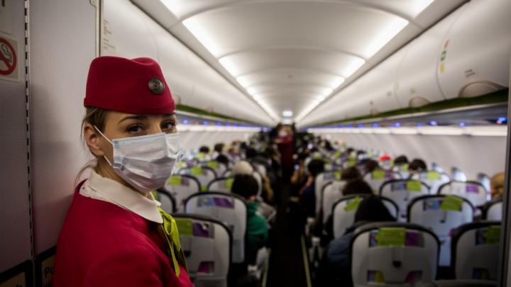Подхватившая коронавирус студентка летела из Китая через Новосибирск