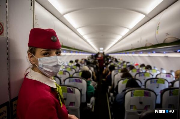 Студентка летела из Китая через Новосибирск