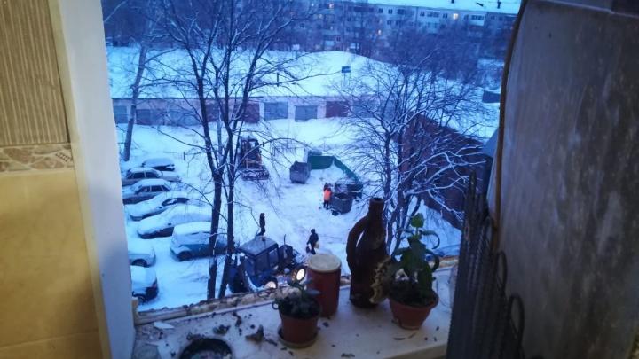 В Уфе в жилом доме произошел хлопок бытового газа