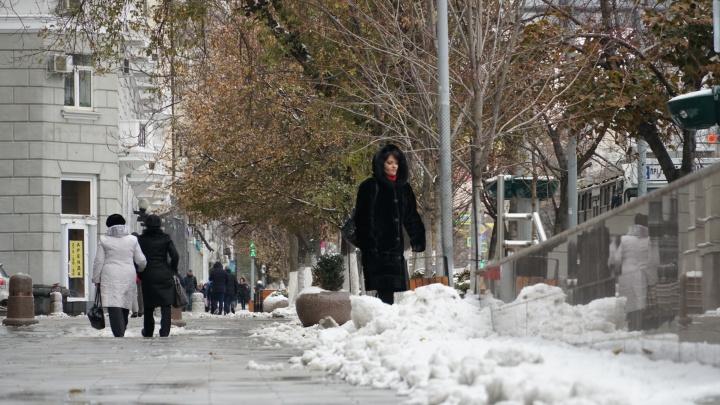 Снег и слякоть. Проверяем, как убирают ростовские улицы