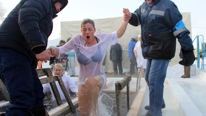 Омские синоптики дали прогноз на Крещение