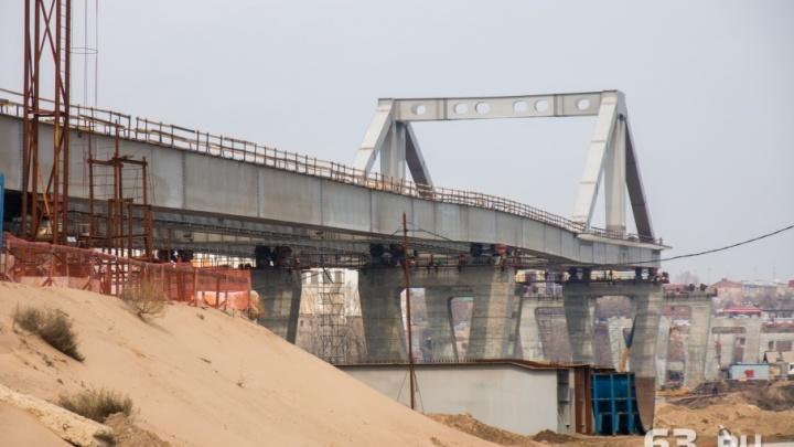 Региональные власти хотят закончить строительство Фрунзенского моста в 2019 году