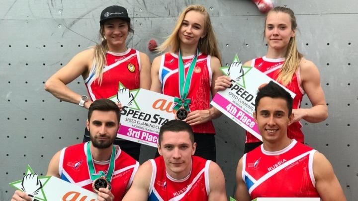 Юная скалолазка из Перми завоевала бронзовую медаль в Токио