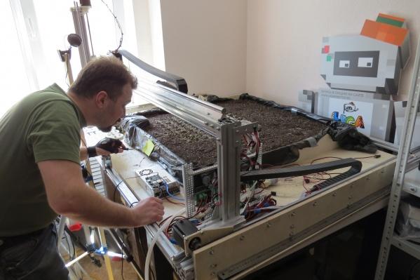 Робот-теплица будет выдавать лотки с готовой рассадой