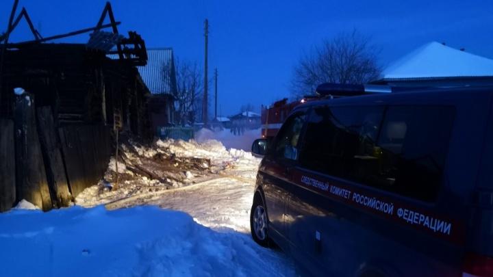Из-за пожаров в Зауралье, в которых погибли шесть детей, могут наказать органы профилактики