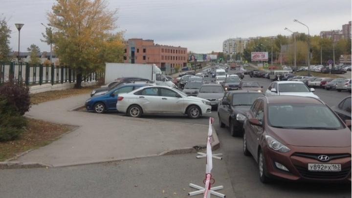В Самаре напротив онкоцентра обнаружили незаконную платную парковку