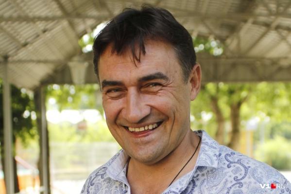 Актёр приезжал в Волгоград на 85-летие отца