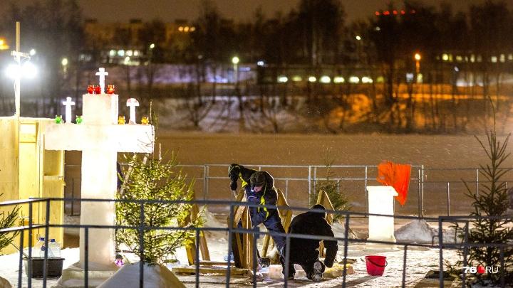 «Толщина льда критическая»: в Ярославле власти думают о переносе иорданей на Крещение
