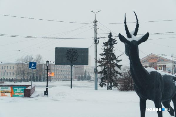 Даже олень удивлён дождю в январе