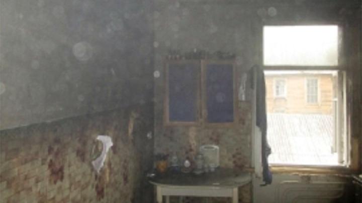 Пожар в жилом доме в Ярославле: в огне погибла женщина