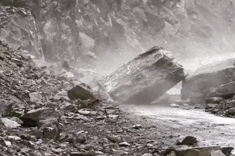 Путешественники из Новосибирска попали под камнепад в горах Грузии
