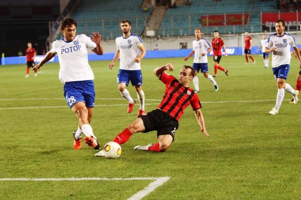 Единственный гол в ворота соперника забил Александр Коротаев