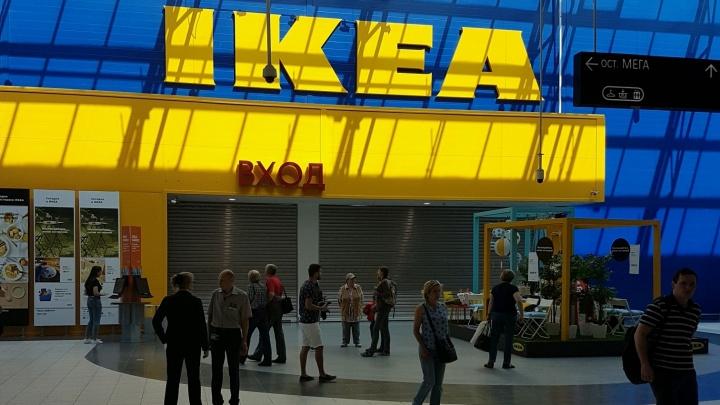 Из магазина IKEA вывели покупателей и работников