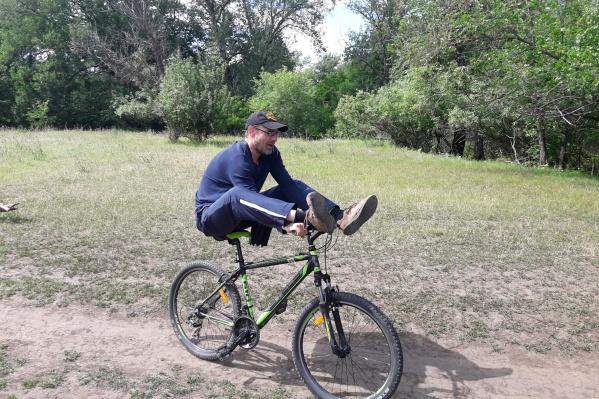 Сергей Жуков, журналист, автомобилист и велолюбитель