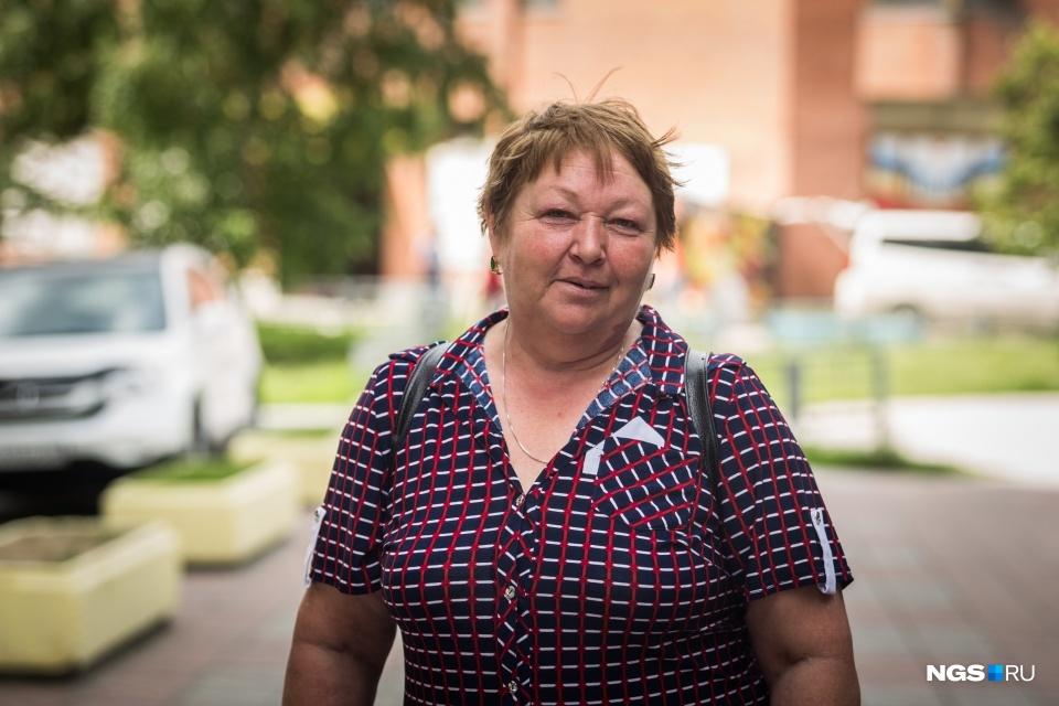 Галине 55 лет, она на пенсии, но продолжает работать