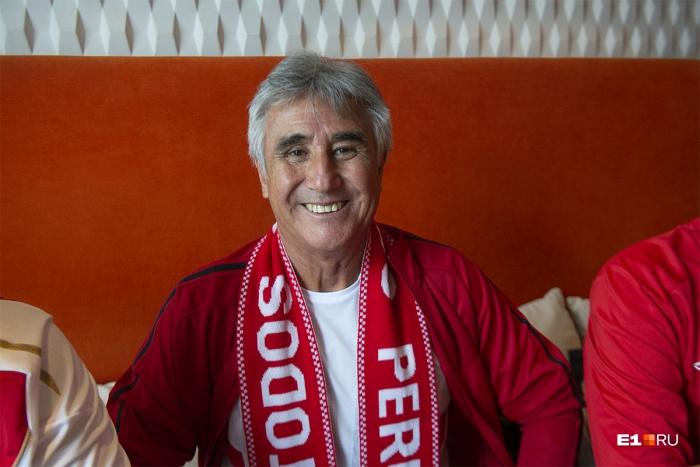 Перси Рохаса Монтеро хорошо знают фанаты футбола в Перу. А теперь — и вы!