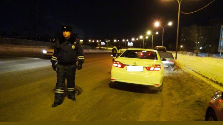В праздничные выходные в Екатеринбурге поймали больше полусотни пьяных водителей