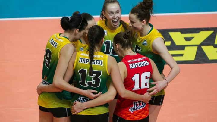 «Уралочка» прошла в финал Кубка России, одержав три победы подряд