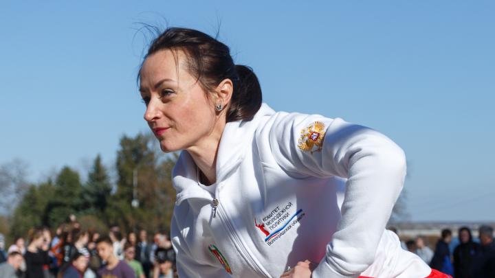 Волгоградскую олимпийскую чемпионку Елену Слесаренко заподозрили в «левой» диссертации