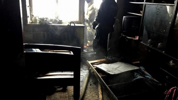 В Уфе установили виновника пожара в многоэтажке, из-за которого эвакуировали жильцов подъезда
