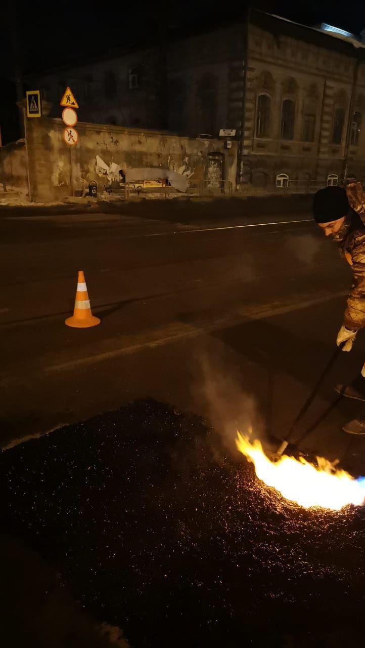 Ремонт прошёл на нескольких участках улицы Труда