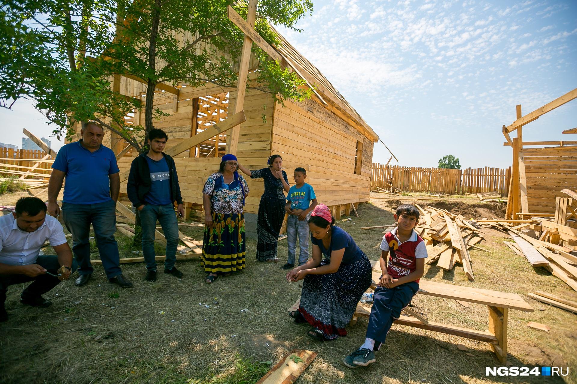 В Терентьево перебрались 12 семей, в каждой почти по 5–7 человек