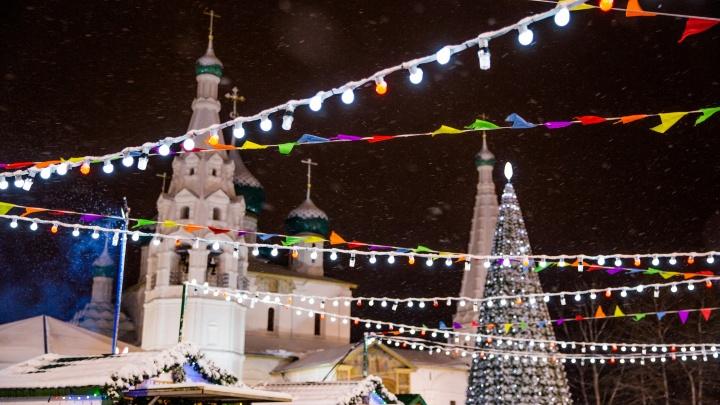 К Новому году в Ярославле появится инсталляция-сюрприз