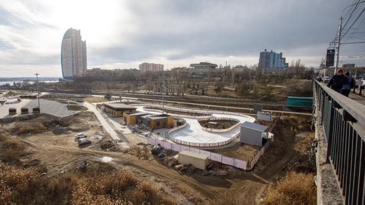 «Кататься подано»: в пойме Царицы открывается самый большой в Волгограде каток