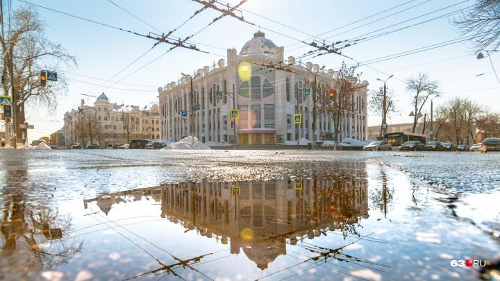 Дептранс объяснил новую схему движения возле Самарской филармонии и Драмтеатра