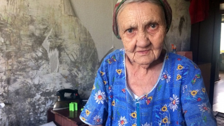 В Уфе волонтеры помогли 86-летней бабушке, которая в одиночку содержит семью